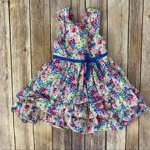 American Living Floral Ruffle Crossback Dress 18M